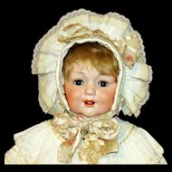 Antique George Borgfeldlt #327 Character Baby Doll in Elaborate Victorian Costume