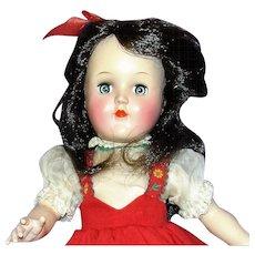 1950 All Original P90 Black Hair Toni Doll w/Play Wave Set And Box