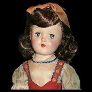 Fabulous All Original 1950's Ideal Toni Doll
