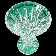 "Exquisite 8 1/2"" Waterford Irish Crystal Vase in Original Box"