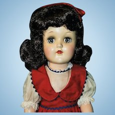 Gorgeous 1949 Toni Doll In Original Play Wave Box!