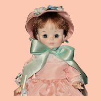 "Vintage 14"" Madame Alexander Lucinda Doll in Original Box"