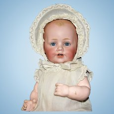 """Precious 13"""" Antique Kestner Character Doll Baby Jean - Too cute!"""