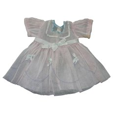 """Shirley Temple Dress From 1934 -35 for A 22"""" Doll"""