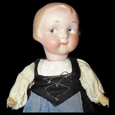 "All Original 9-1/2"" Antique German Armand Marseille Googly Doll"