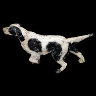 Fabulous Antique Door Stop: English Pointer Dog