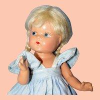 Adorable 1940's Composition Vogue Toddles Doll