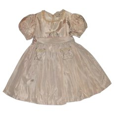 Gorgeous Tagged 1930's Shirley Temple Brand Cinderella Dress