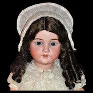 """Gorgeous BIG 32"""" Antique German Kley & Hahn Bisque Doll"""