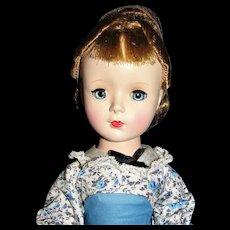 Beautiful 1952 Madame Alexander Little Women Meg walker doll - MINT IN BOX!