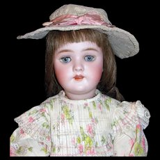 "Stunning Antique 22"" German Handwerck Doll Mold #109"