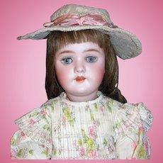 "Stunning Antique 22"" German Handwerck Doll Mold #109"