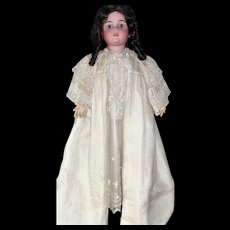 Extraordinary Antique Victorian Christening Coat with Exquisite Hand Tatted Lace Cape Collar