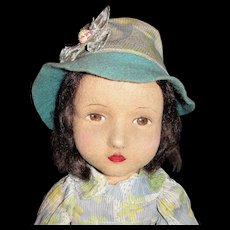 Fabulous All Original 1930's Chad Valley Character Doll