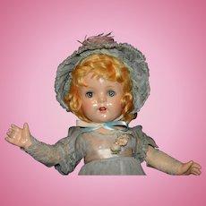 Large All Original 1936 Madame Alexander Kate Greenaway Doll