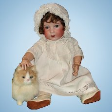 Adorable Antique French Character Toddler Doll by SFBJ