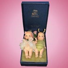 R John Wright Special Edition Flit & Fleur Kewpie Dolls