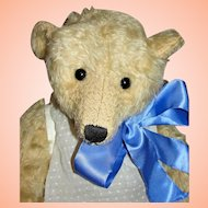 Vintage One of Kind Terry John Woods Long Nosed Blond Bear / Doll