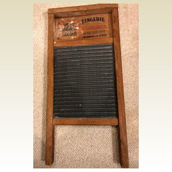 The Zinc King lingerie washboard No. 703: National washboard co.