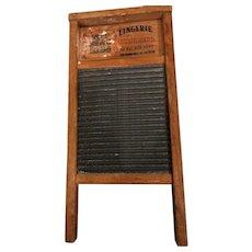 The Zinc King lingerie washboard No. 703: National washboard co.