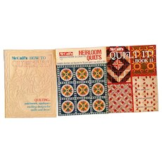 Vintage McCall's quilting magazines 72-73
