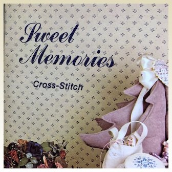Vintage: Sweet Memories: Cross Stitch: booklet: Vanessa-Ann collection:1981