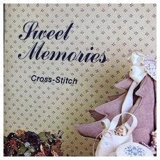 Vintage: Sweet Memories: Cross Stitch: booklet: Vanessa-Ann collection:1981