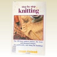 Step by Step Knitting: mon tricot special annual issue:France:1980