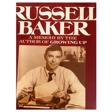 vintage First Edition: Russell Baker: the Good Times: First Edition: 1989: Memoir