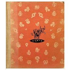 Ferdinand :children's book: 1936 first edition: 4th printing: Notable children's book
