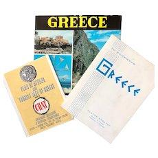 Greece: Vintage travel booklets: 1970