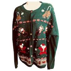 Christmas sweater: 1970s
