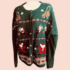 Christmas sweater: 1970s