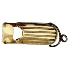 Vintage: sterling cigar cutter: 1800s: First Family of Virginia