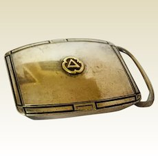 Sterling Belt Buckle: City Service logo