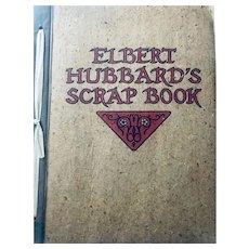 Elbert Hubbard's Scrap Book: January 1928: first edition: very fine