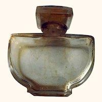 Caron Fluers de Rocaille perfume bottle: Baccarat bottle:vintage 50s-60s