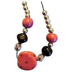 Artisan Kauzri  silver Necklace; 22 inches