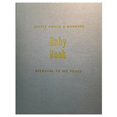 Better Homes and Gardens Baby Book: never used: 1943