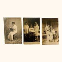 Antique photograph postcards: story postcards: Princess Anne Maryland