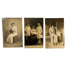 Antique photograph postcards: story postcards: Princess Anne Maryland
