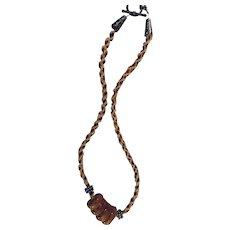Artisen Kimohimo Kazuri necklace: 20 inches