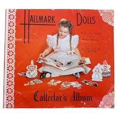 Hallmark Dolls Colector Album: 11 dolls: 1948:Hall Brothers