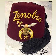 Zenobia shriners fez