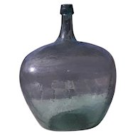 Antique Demijohn Hand Blown Bottle 5 Gallon