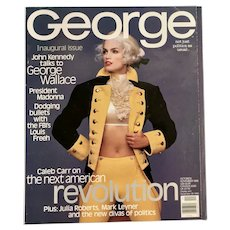 George Magazine Inaugural 1st Issue Oct-Nov. 1995