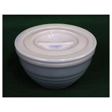 Delphite Drippings Jar Bowl Canister w/ Lid