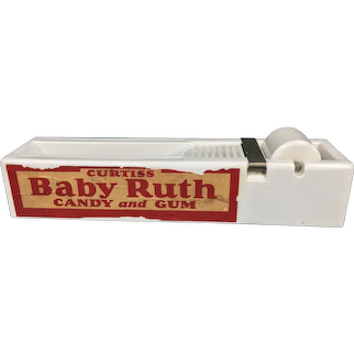 Vintage Curtiss Baby Ruth Candy Gum Adsealit