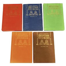 Uncle Arthur's Bedtime Stories 5 Books, Vols. 1-20 1940's