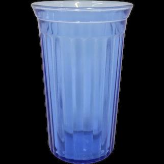 Hazel Atlas Aurora Cobalt Tumbler Depression Glass